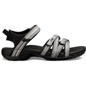 Teva Tirra Sandalen Dames, black/white multi